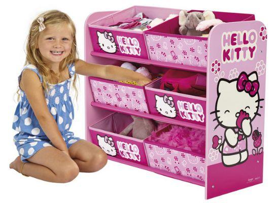 Hello Kitty Toy Bin : Hello kitty bin storage unit £ was tesco