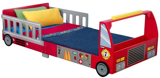 kidkraft fire truck bed pm