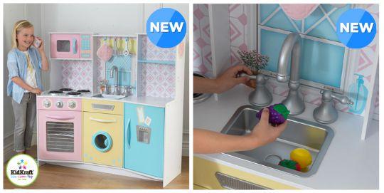 kidkraft pastel treats kitchen pm