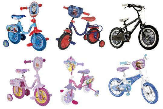 kids character bikes up to half price pm