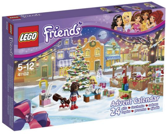 lego friends advent calendar pm