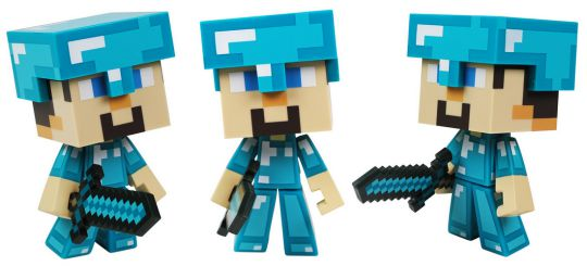 minecraft steve diamond pm