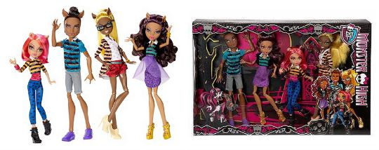 monster high wolf gift set pm