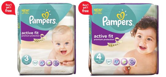 pampers BOGOF pm