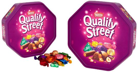 quality street tub pm