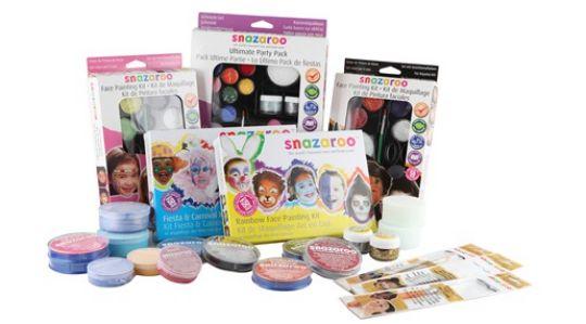 snazaroo face paints pm