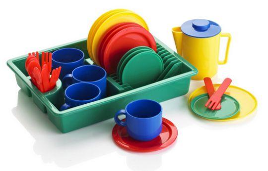 tea set & drainer pm