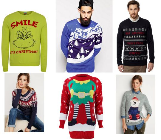 xmas jumper collage 1 pm