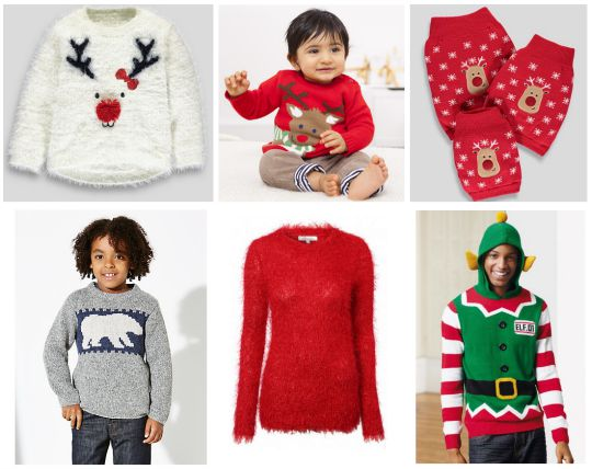 xmas jumper collage 2 pm