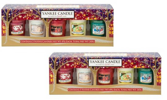 Yankee Candle Christmas Votive Gift Set 647 Delivered Using Code