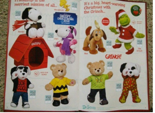 What's On Offer This Christmas @ Build A Bear