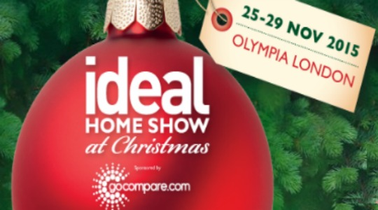 free tickets to the ideal home show at christmas with code