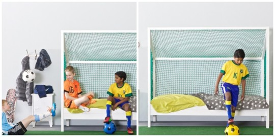 Kids Football Bed