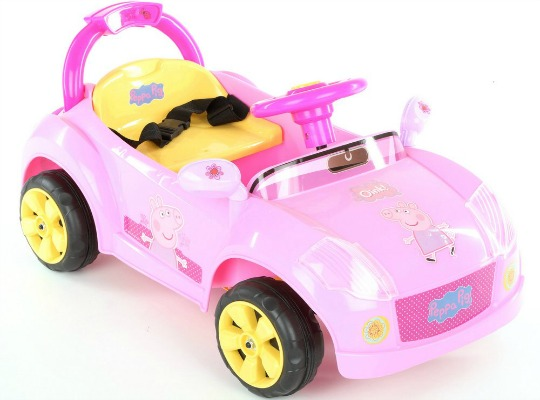 Peppa Pig 6v Electric Ride On Car 163 53 10 Halfords