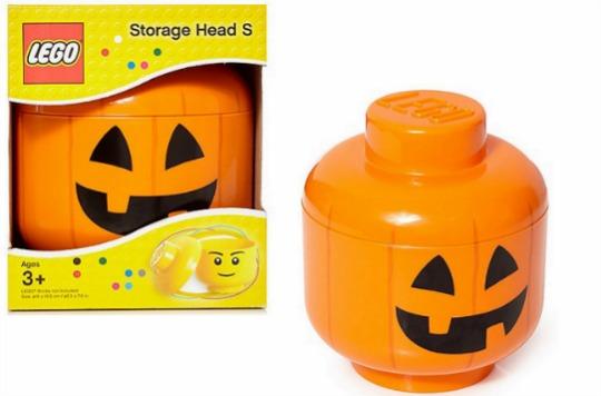 Pumpkin Lego Head