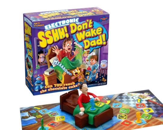 Don't Wake Dad board game