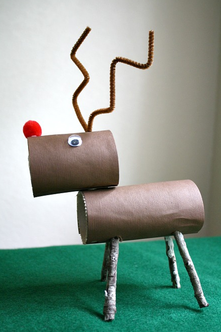 Loo roll reindeer