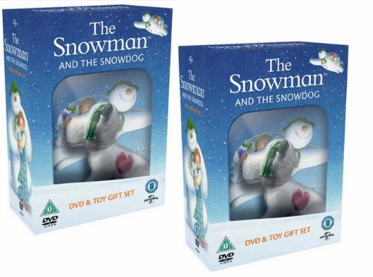 Snowman Snowdog