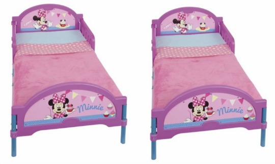 minnie mouse toddler bed pm