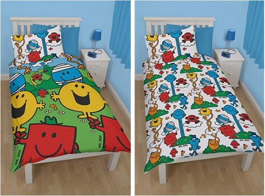 mr men duvet cover pm