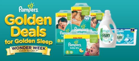 pampers week of wonder pm