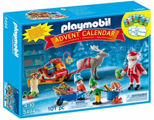 playmobil santas workshop pm