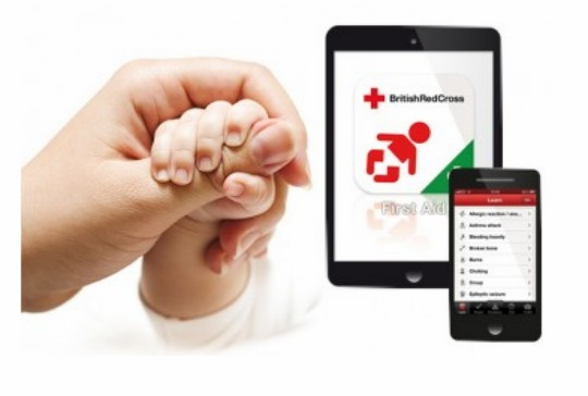 red cross first aid app pm