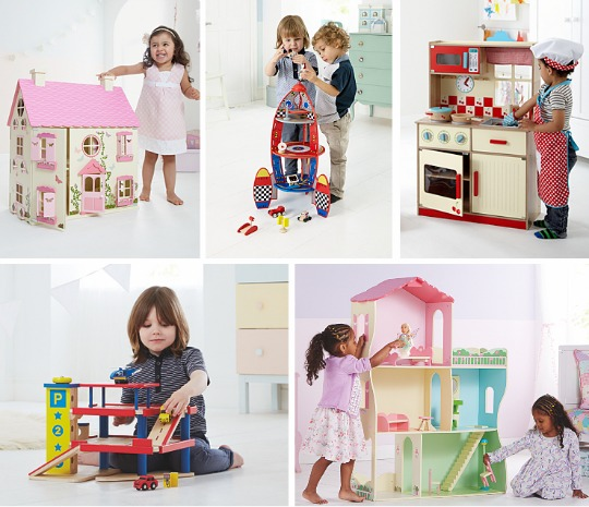 wooden toys asda pm