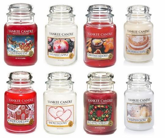 xmas yankee candles pm