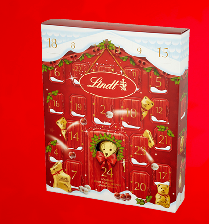 Lindt Teddy Bear House Advent Calendar