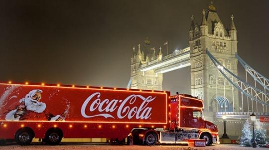 coca cola xmas truck pm