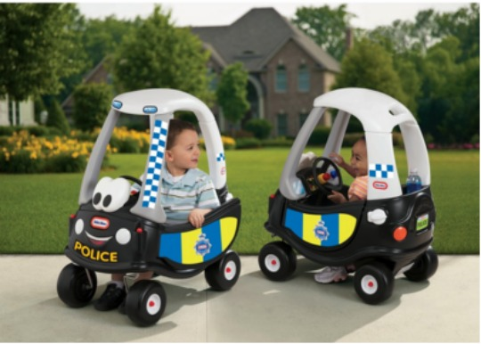 cozy coupe police car pm