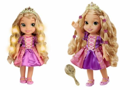 hair glow rapunzel pm