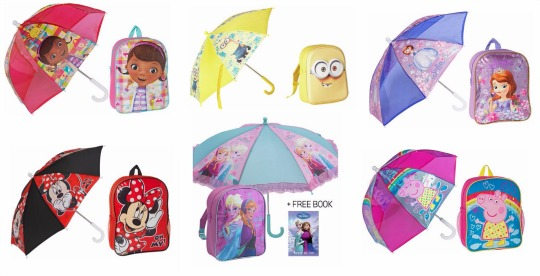 umbrella and backpack pm
