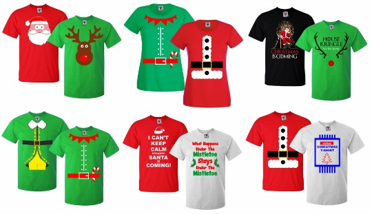 TwinPack Adult Christmas T-shirts £11.90 (with code ...
