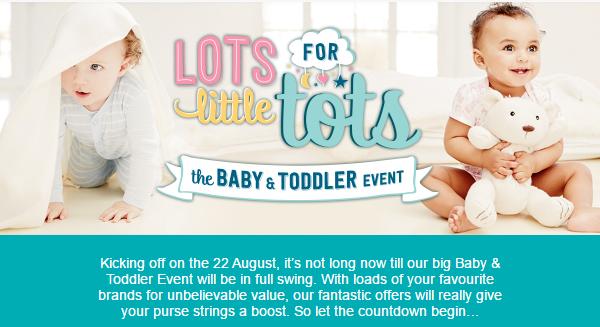 asda baby toddler event coming soon. Black Bedroom Furniture Sets. Home Design Ideas