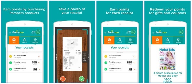 Free Pampers Club App Get Points With Every Pampers Purchase