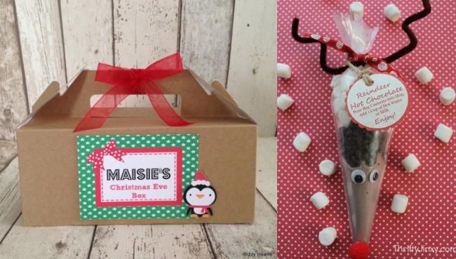 make your own christmas eve box