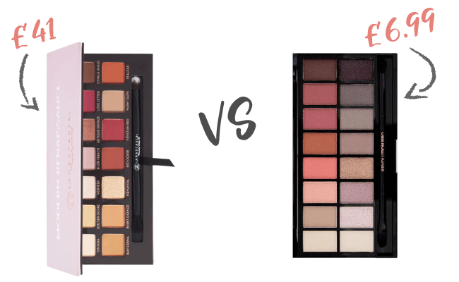 The best eye makeup dupes uk for Modern neutrals palette