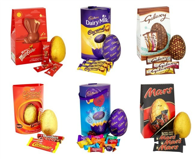 Top easter egg supermarket deals 2017 tesco have the best offer on those extra large easter eggs if you want something really big as theyre on offer at 2 for 10 making them the best price negle Image collections