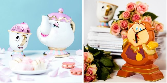 Look At All The Beauty And The Beast Goodies Coming To