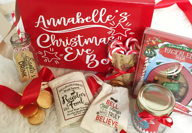 anything that will help you have a magical christmas eve including a family christmas film festive snacks and possibly even a little note from santa