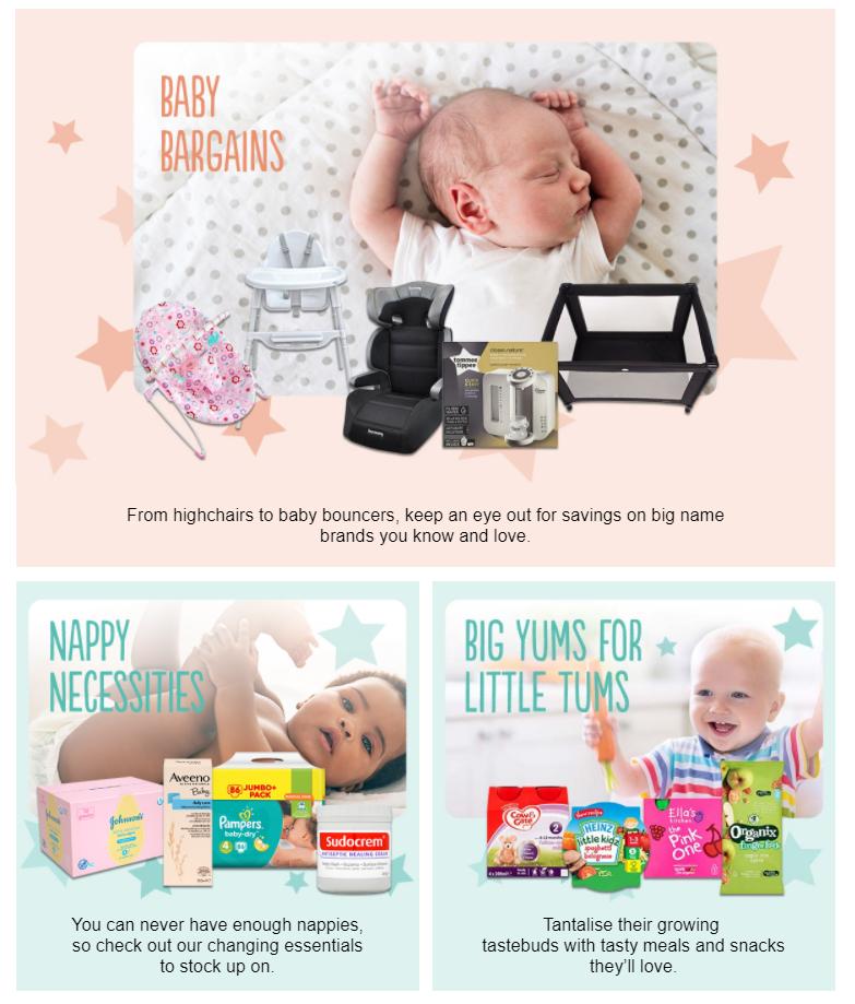 asda baby toddler event now live online asda george. Black Bedroom Furniture Sets. Home Design Ideas