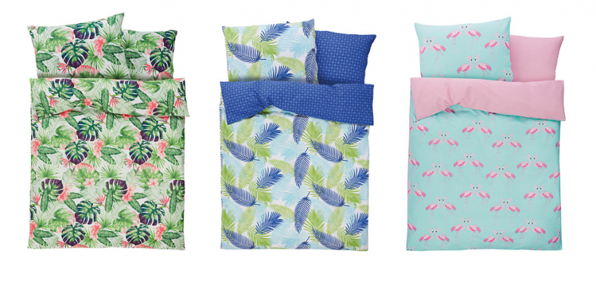 (UF) Tropical Bedding Sets From £7.99 Coming To Lidl