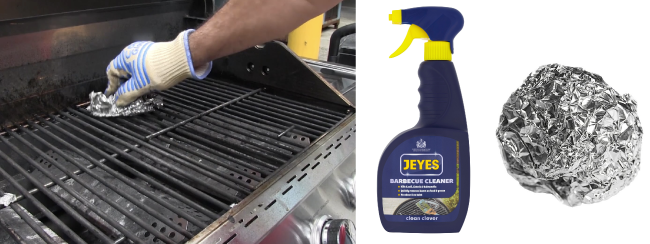 UF How To Clean The BBQ The Easy Way