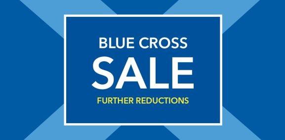 Blue Cross Sale Banner