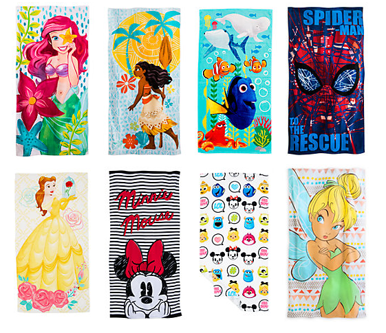 (UF) Disney Beach Towels Now £10 + FREE Personalisation @ The Disney Store