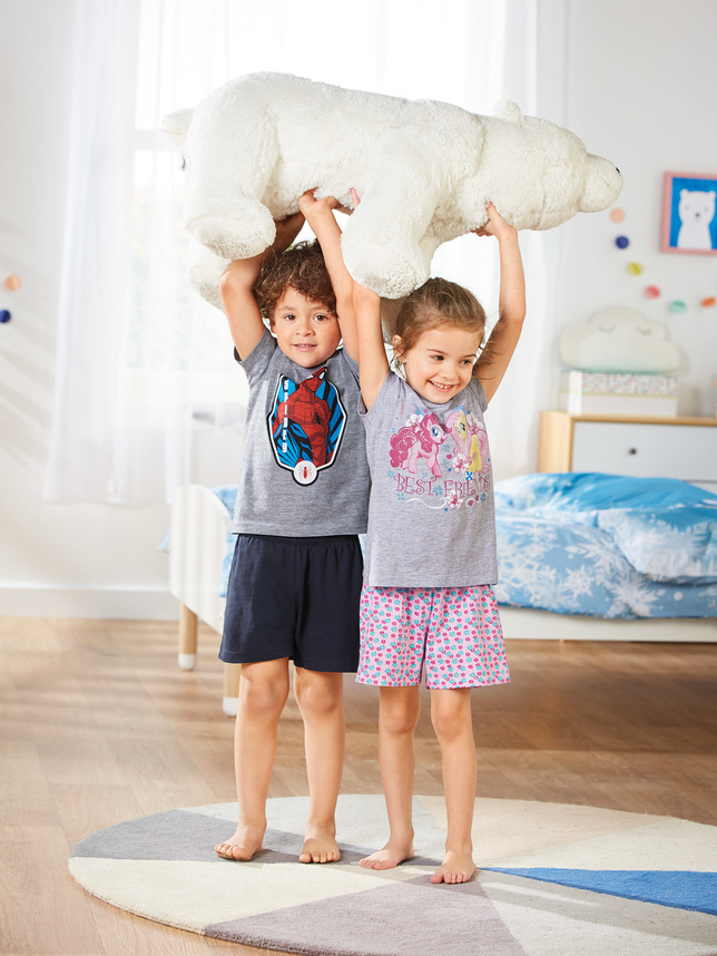 (UF) Kids Short Pyjamas £3.99 @ Lidl From 10th May