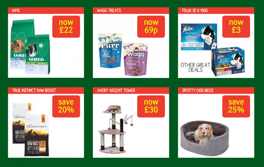 The Big Paw Sale Now On @ Pets At Home