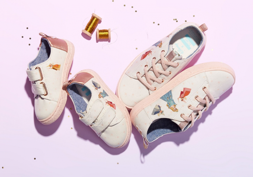 (UF) TOMS Launch Disney Princess Collection For Adults & Children